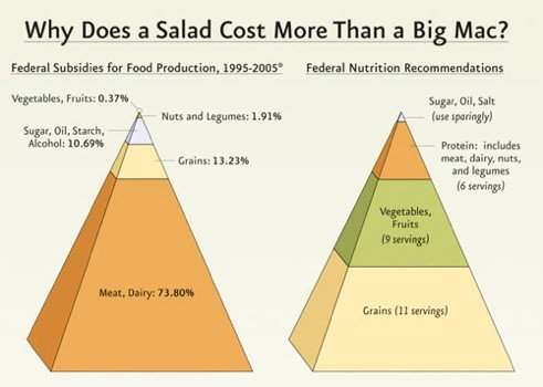 Because it's Friday: Why a Salad Costs More than a Big Mac