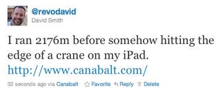 Canabalt-tweet