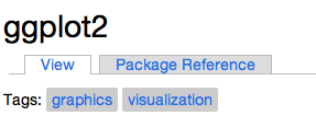 Package reference tab