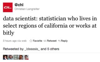 Data scientist california