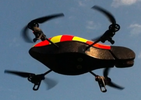 Quadcopter-still