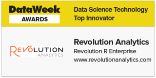 Revolution Analytics receives Top Innovator award for Data Science Technology