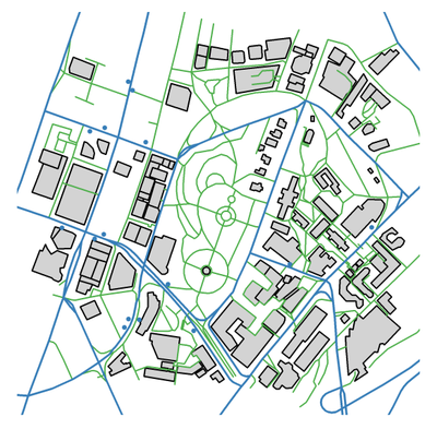 University of Auckland Transit Map