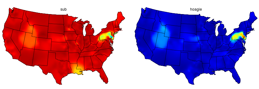 Crayfish Or Crawdad Mapping Us Dialect Variations With R Revolutions