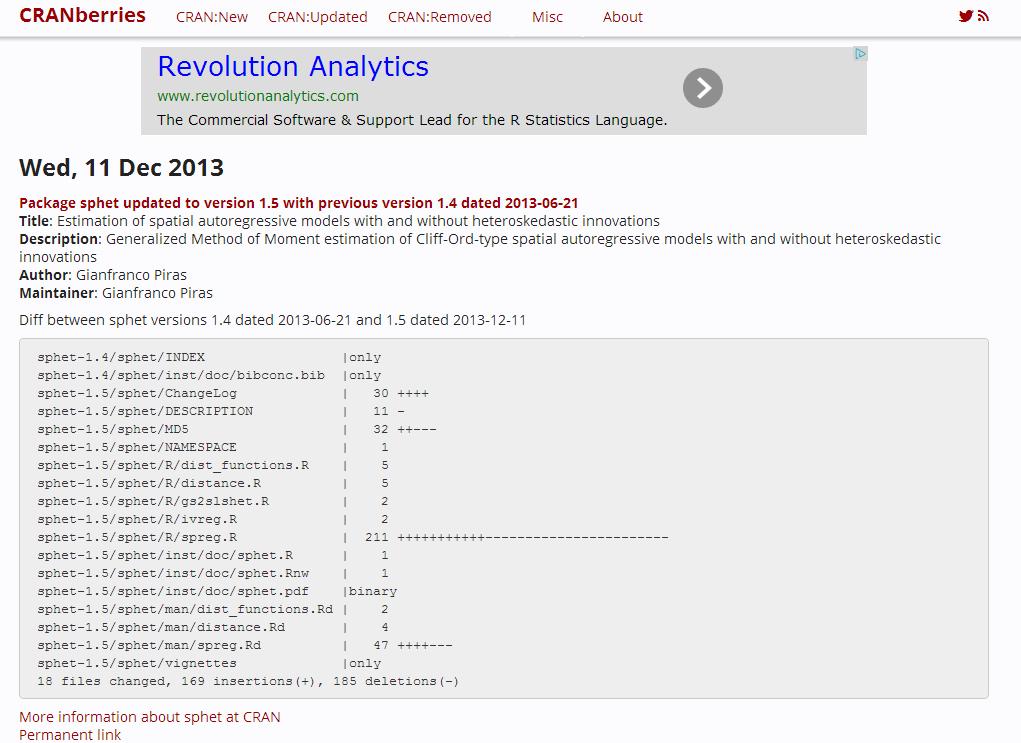 Revolutions: statistics