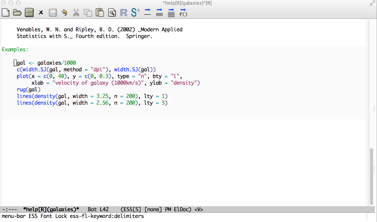 Emacs, ESS and R for Zombies (Revolutions)