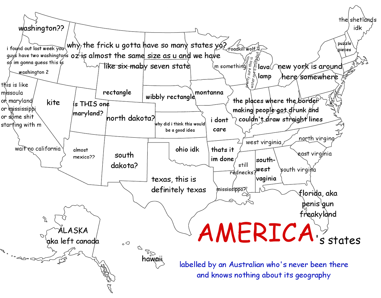 Because Its Friday Bad Maps Revolutions - Us map pi