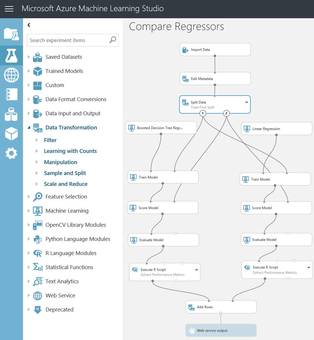 Azure ML Studio now supports Microsoft R Open, Python 3 (Revolutions)