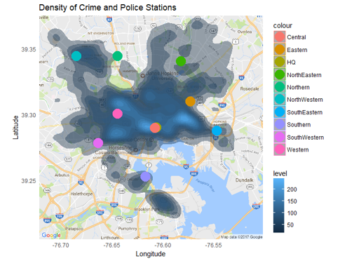 ASA Police Data Challenge student visualization contest winners