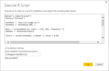 PowerBI adds support for R