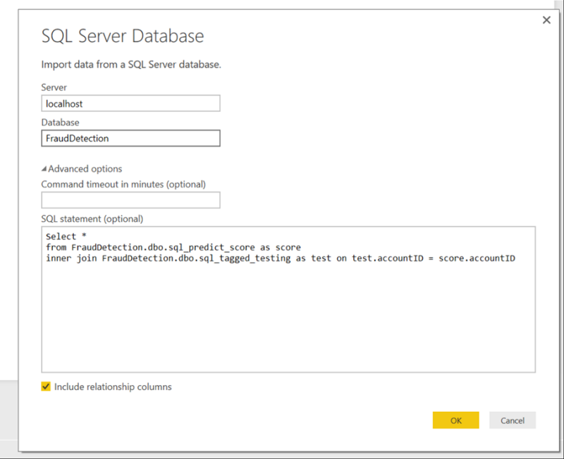 SQL Server, Power BI, and R