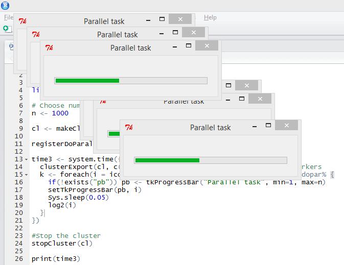 Multi-taskbar