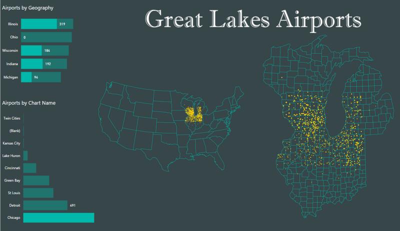 Great lakes airports