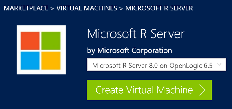 Microsoft R Server Now Available in the Cloud on Azure Marketplace