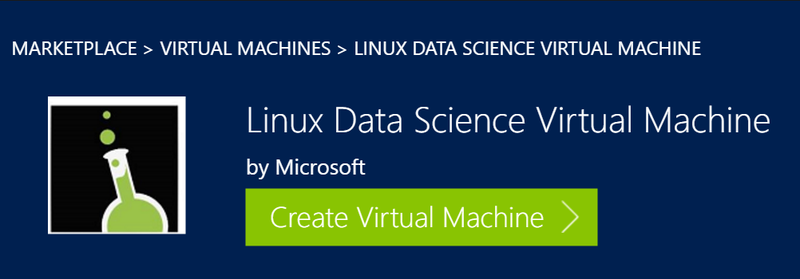 Microsoft Data Science VM now available as a Linux instance